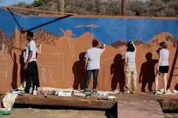 CalArts Cares: Student volunteerism in Santa Clarita— February 16-22, 2015