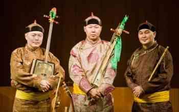 Internationally Acclaimed Alash Ensemble Brings Tuvan Throat Singing and Traditional Instruments to CalArts' Wild Beast Concert Series