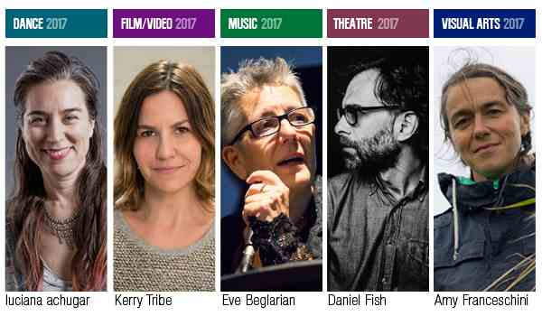 The Herb Alpert Foundation and California Institute of the Arts (CalArts) Announce the Five 2017 Herb Alpert Award in the Arts recipients