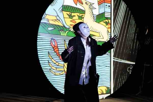 CalArts Center for New Performance (CNP) presents the World Premiere of Fantômas – Revenge of the Image at the Wuzhen Theatre Festival