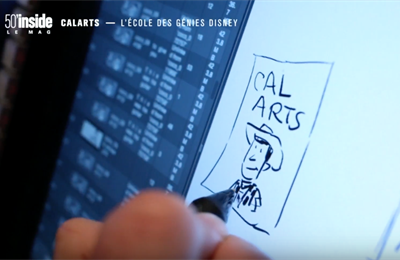 French TV Program '50 Minutes Inside' Profiles CalArts and 'Coco' [English Subtitles]
