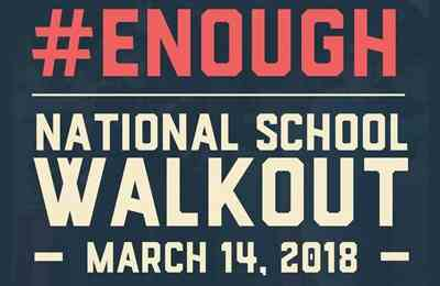 March 14, 2018: National School Walkout