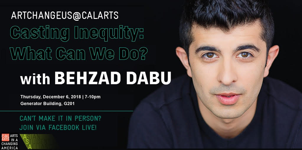 Casting Inequity: What can we do? With Behzad Dabu