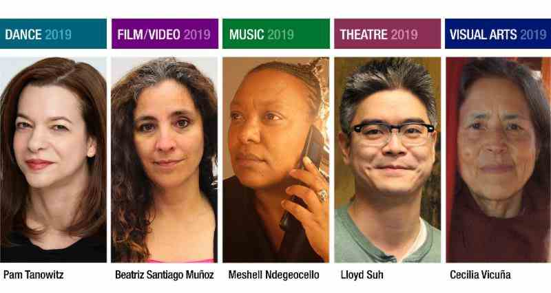 The Herb Alpert Foundation and CalArts Announce the Five 2019 Herb Alpert Award in the Arts Recipients