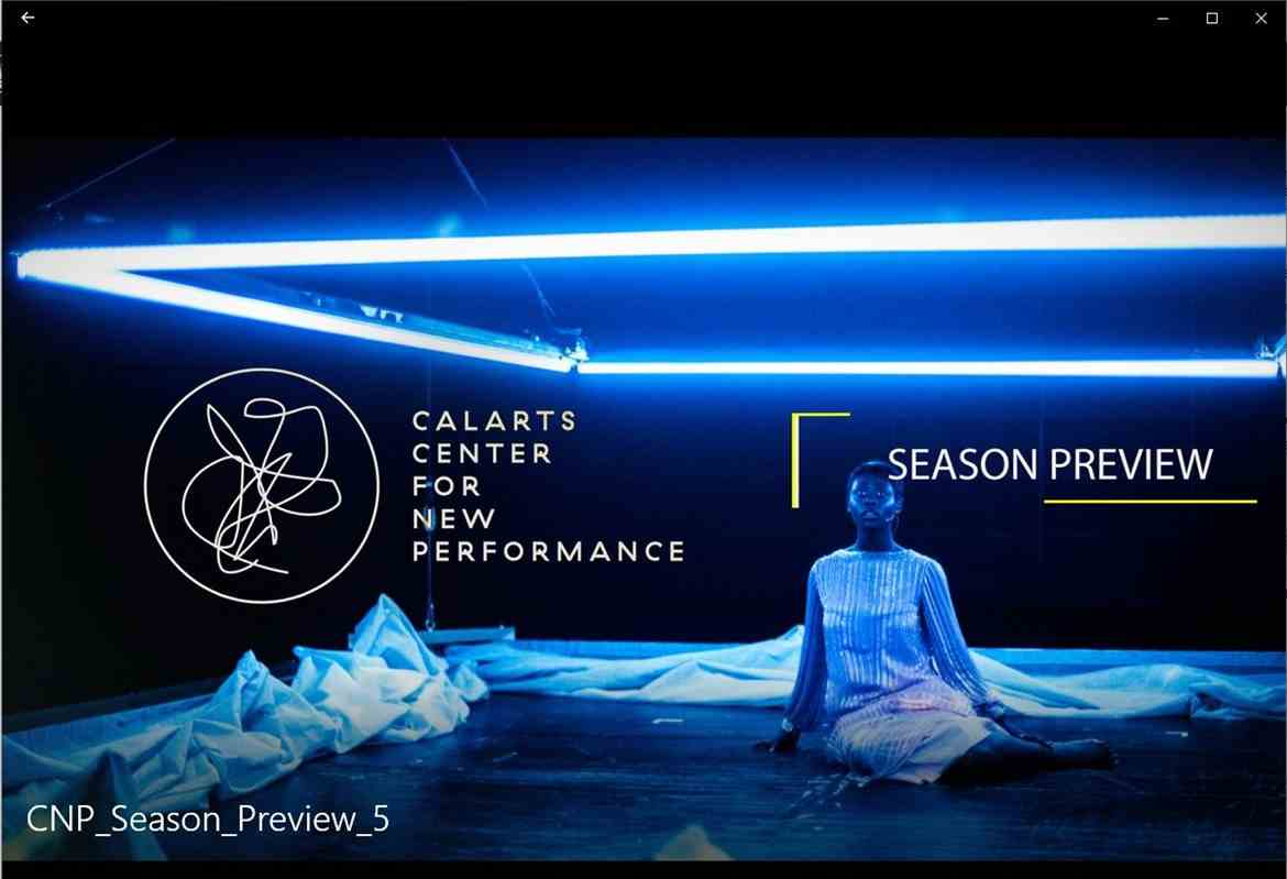 CalArts Center for New Performance Announces 2019-20 Season