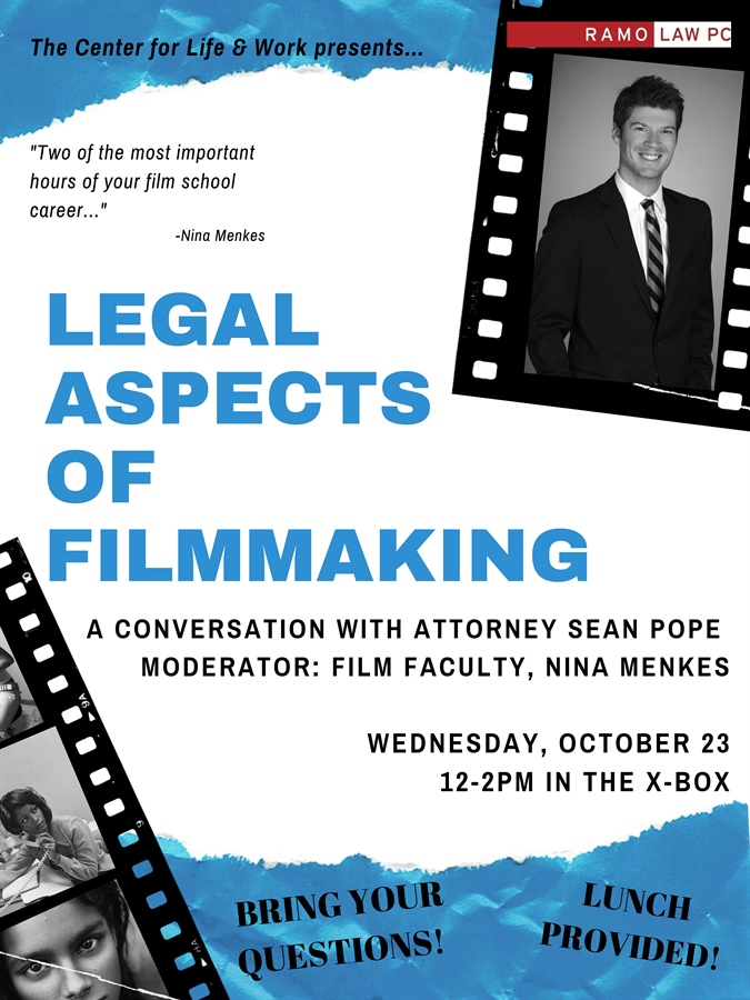 Legal Aspects of Filmmaking (with Ramo Law's Sean Pope)