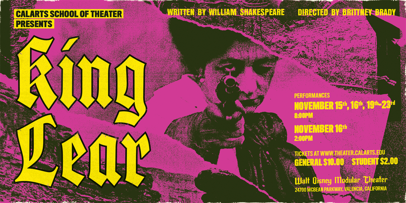 CalArts School of Theater presents 'King Lear'