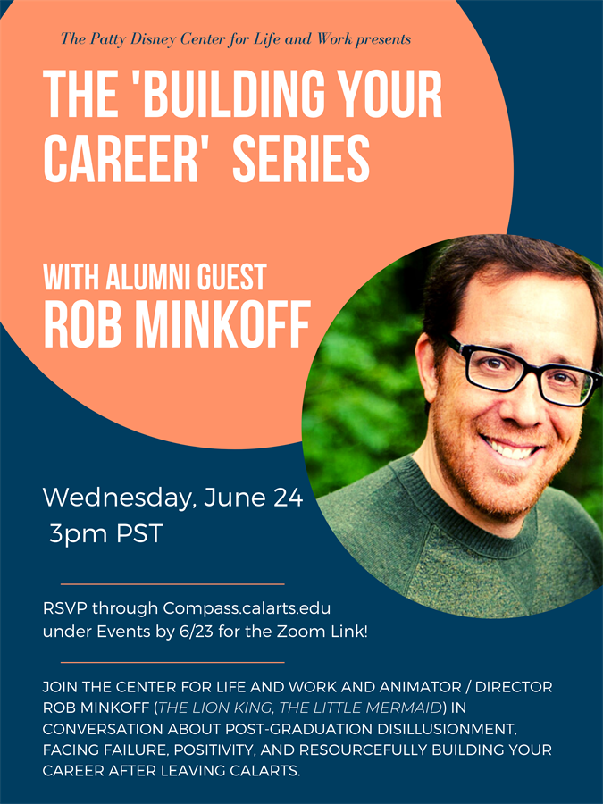 Building Your Career with Rob Minkoff