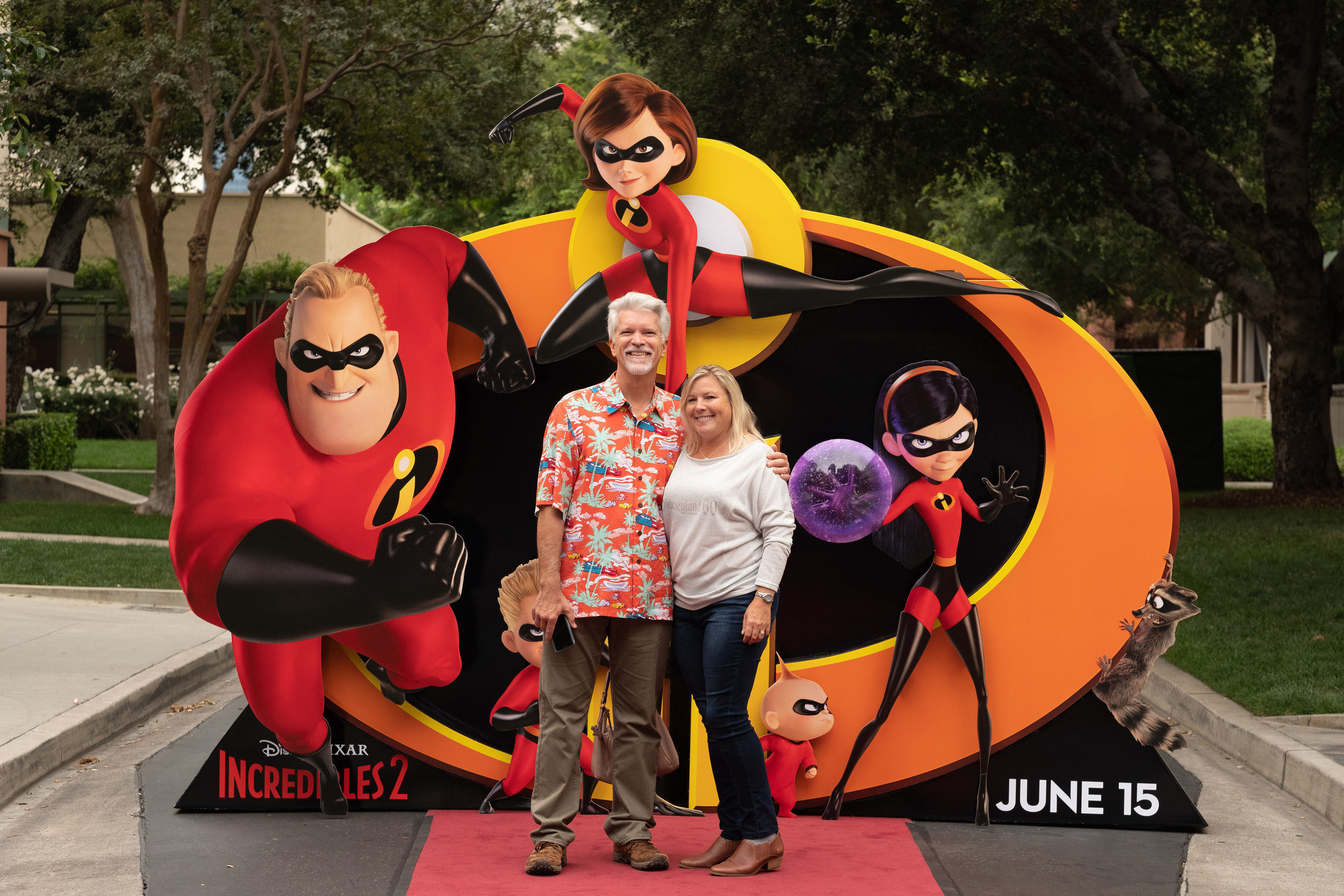Screening of Incredibles 2 at Walt Disney Studios, Burbank