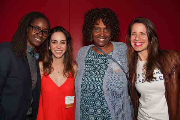 Los Angeles Chapter Leaders C.O. Thomas, Michelle Roshanzamir, Barbara Roberts and Kassandra Kocoshis at Ravi@REDCAT Event