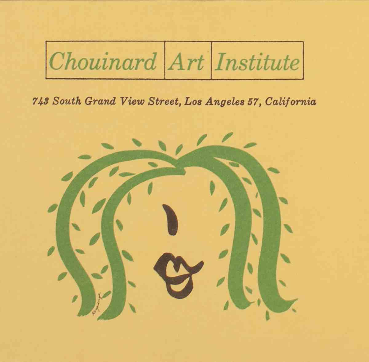 Chouinard Admissions Catalog
