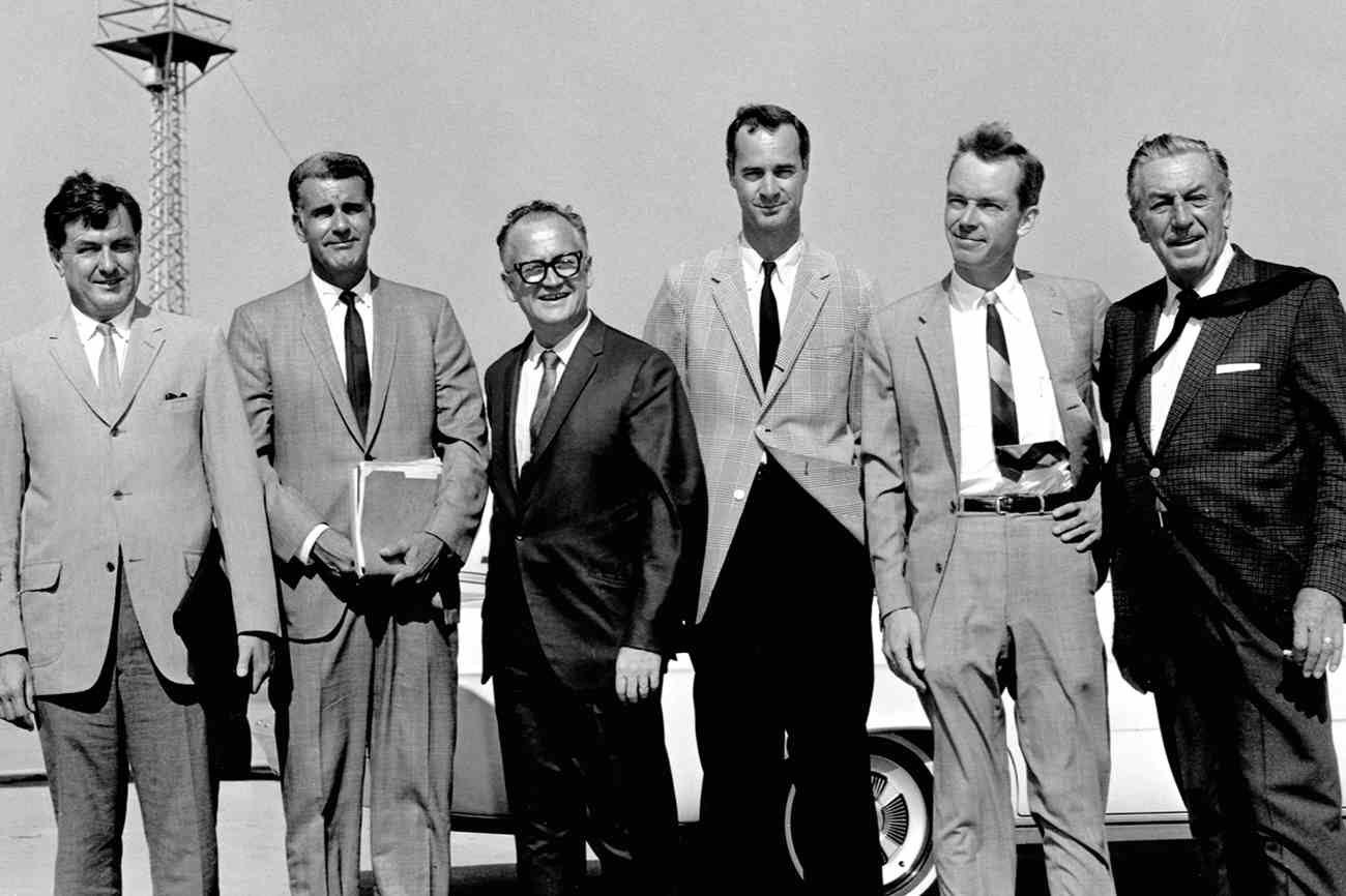 Walt Disney and colleagues
