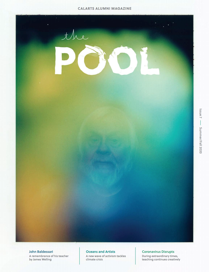 The Pool Issue 7 cover 'Contact Aura (John Baldessari 2003),' 2018 by Anne Collier