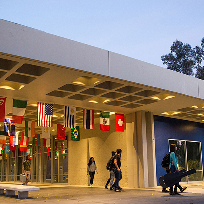 CalArts Main Entrance. Photo: Rafael Hernandez